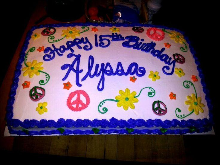 Teen cake