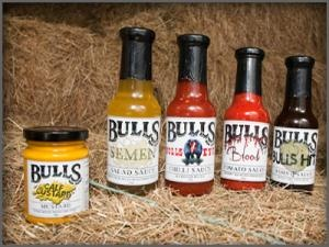 Cheeky condiments from Palatable in the township of #bulls #newzealand #nz #food