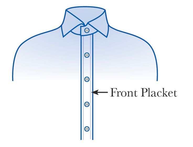 17 best images about sewing tutorials cuffs collars for Tuxedo shirt covered placket