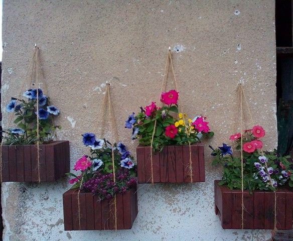 beehive flower pot