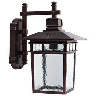 Shop For Cullen Oil Rubbed Bronze Exterior Light Fixture With Clear Water  Glassu2026