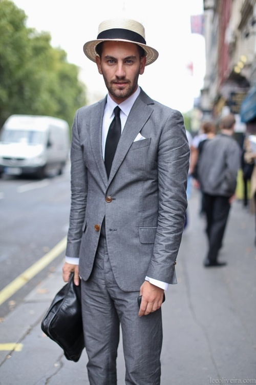 More Than 50 Shades of Grey Suits! | TRENDInsider | Fashion News