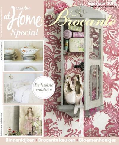 Nu alvast te reserveren en 19 maart 2013 in de winkel verkrijgbaar: de Brocantespecial voorjaar 2013! #magazine #cover #brocante #shabby