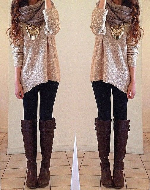 fall love ❄ Beautiful fall outfit.