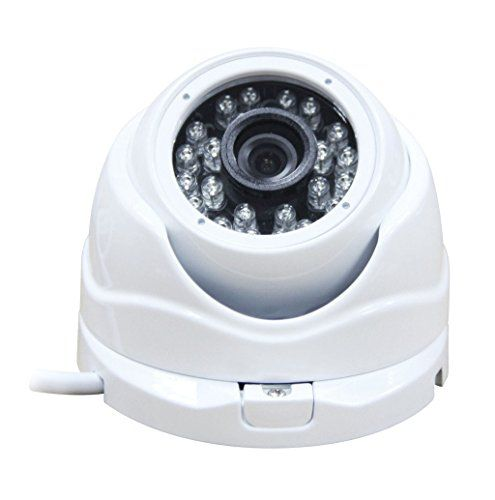 SecTec Dome AHD Camera CCTV Monitoring Camera Surveillance Security Camera System with OSD Night Vision 24PCS IR LED for Indoor Only (960P-1.3MP)