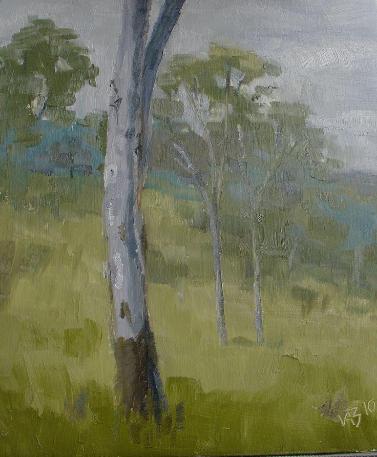Vicki Bosworth: Mackay, Oil on canvas