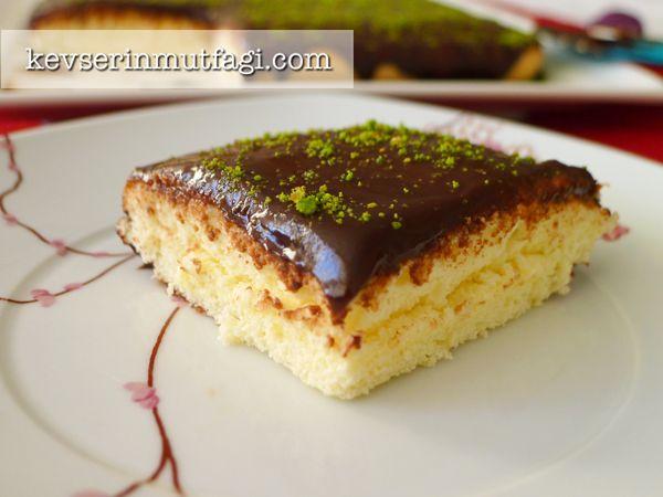 Pratik Yaş Pasta Tarifi - Kevser'in Mutfağı - Yemek Tarifleri