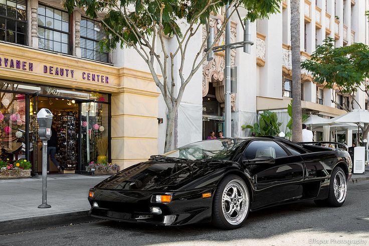 Lamborghini Diablo SV - The first Lamborghini I ever saw on the road
