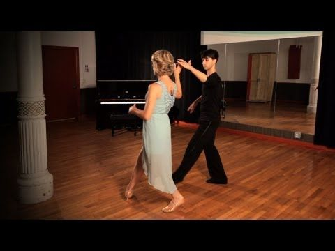 How to Do a Waltz Ladies Underarm Turn | Ballroom Dance - YouTube