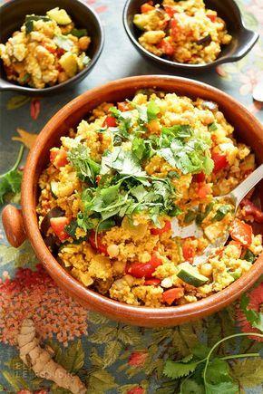 Tunesischer Eintopf glutenfrei, gesunde Ernährung, einfache Rezepte einfaches Rezept für tunesischer Kichererbseneintopf mit Hirse. Glutenfrei und vegetarisch. Dazu Gewürze wie Kurkuma, Curry und Koriander. Sehr gesund und lecker. Author: Elle Republic