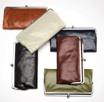 Hobo wallets are the best! I have a silvery metallic one and I'm in love with it!