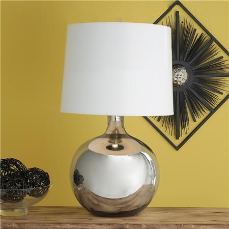 57 best mercury glass lamps images on pinterest glass lamps round glass jug table lamp i have a lamp just like this but with aloadofball Image collections