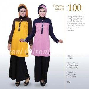 Baju muslim atasan untuk wanita by qirani fashion
