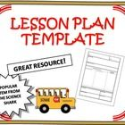 Quick and Easy Lesson Plan Template - Type your lesson on this word DOC and print it or just write it up!  This template has all the essentials you...