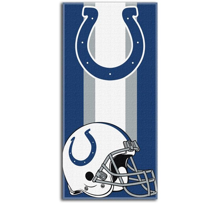 Donu0027t Let The Summer Go Without Some Sizzling Fandom With This Indianapolis  Colts Northwest Company Zone Read Beach Towel. This Extra Large Beach Towel  Will ...