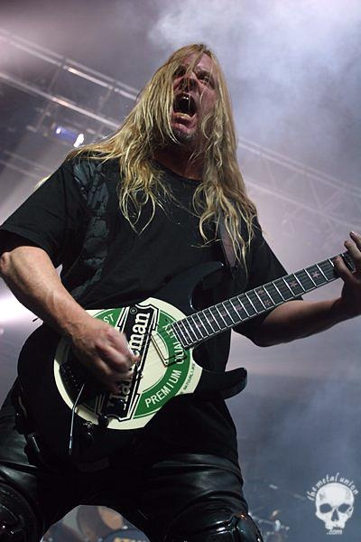 Jeff Hanneman - Slayer, fuck, what a sad day....