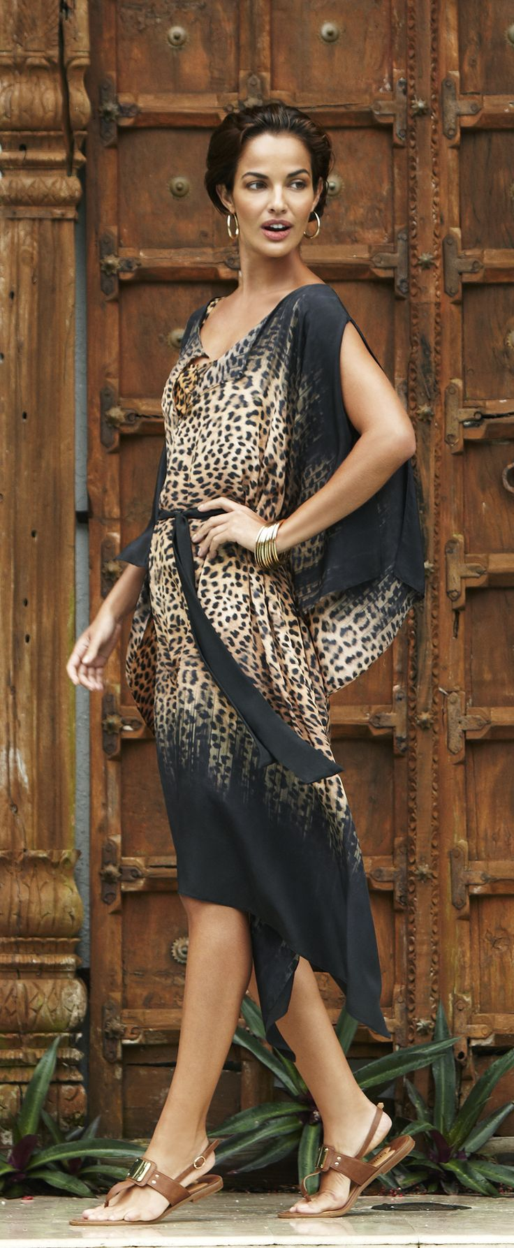 Gottex Bangalore Caftan V Wild Couture Pinterest