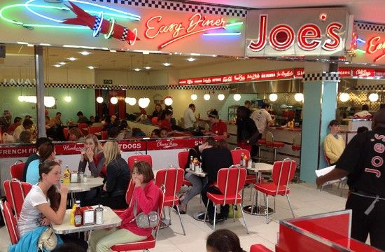 Joe's Easy Diner, Tokais Blue Route Mall -South Africa