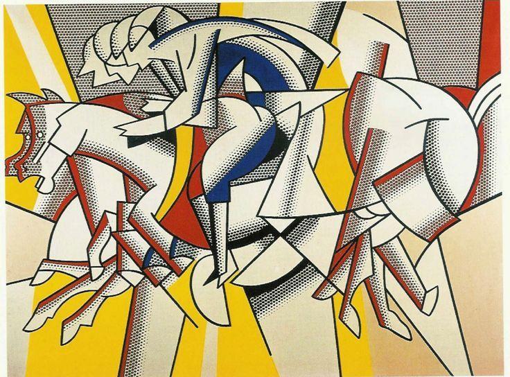Roy Lichtenstein, b.1923The Red Horseman
