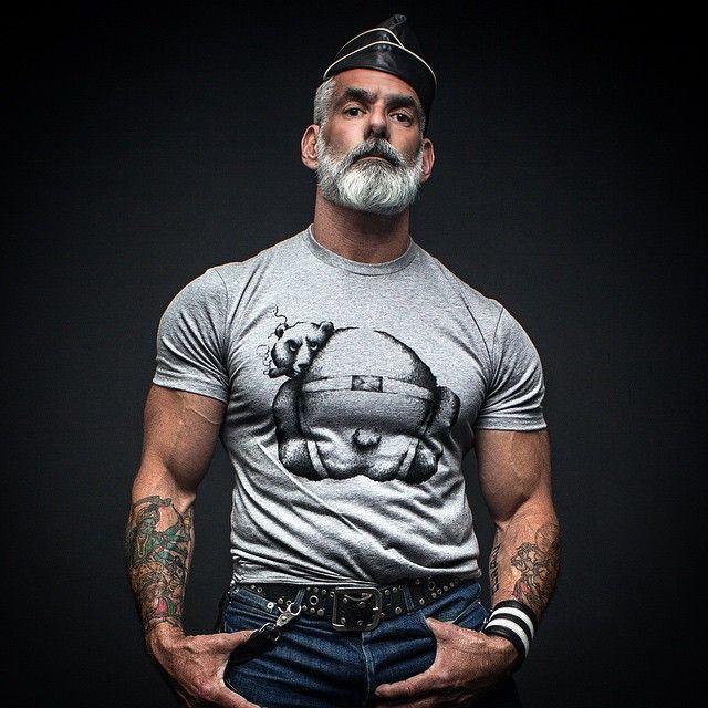 Smokin' Bear! Silberfuchsnyc.com  Photo by @jakesimp  Model @weegeedude  Illus by @abdielvelez  Leather Gear by @manskins_nyc