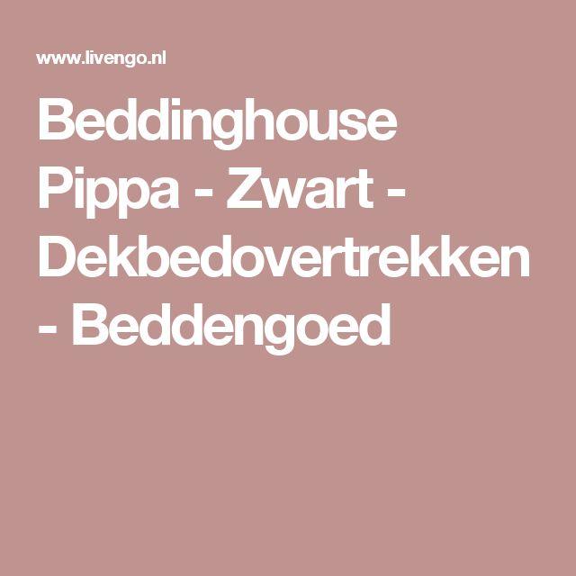 Beddinghouse Pippa - Zwart - Dekbedovertrekken - Beddengoed