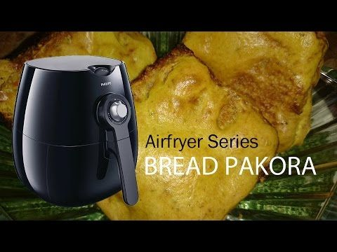 Stuffed Onion Garlic Mushrooms Recipe with Philips Airfryer by Healthy Kadai - YouTube