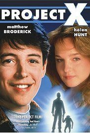 Project X 1987 Full Movie. An Air Force pilot joins a top secret military experiment involving chimps, but begins to suspect there might be something more to the mysterious Project X.