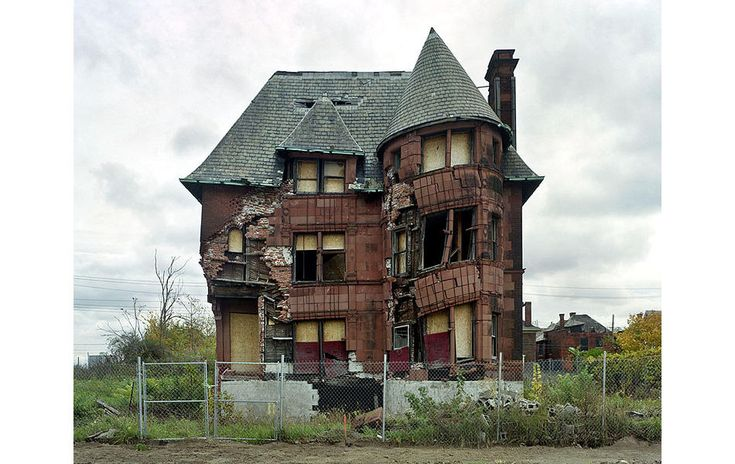 "By Yves Marchand and Romain Meffre from ""The Ruins of Detroit"" (2010)."
