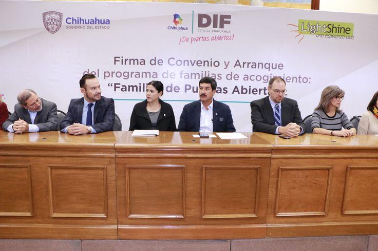 Chihuahua pionero en programa de Familias de Acogimiento para niños tutelados
