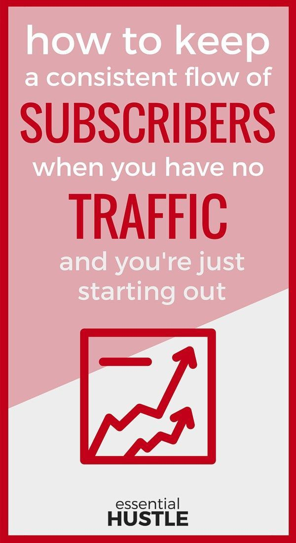 When you're just starting out with your business, you NEED an audience. But how do you keep consistent subscribers? In this extensive guide, I show you free tools and strategies to keep your email list growing.