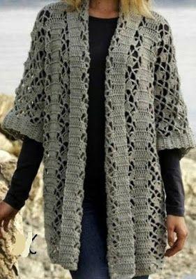 http://www.crochetpatternseasy.com/2016/08/crochet-open-cardigan.html