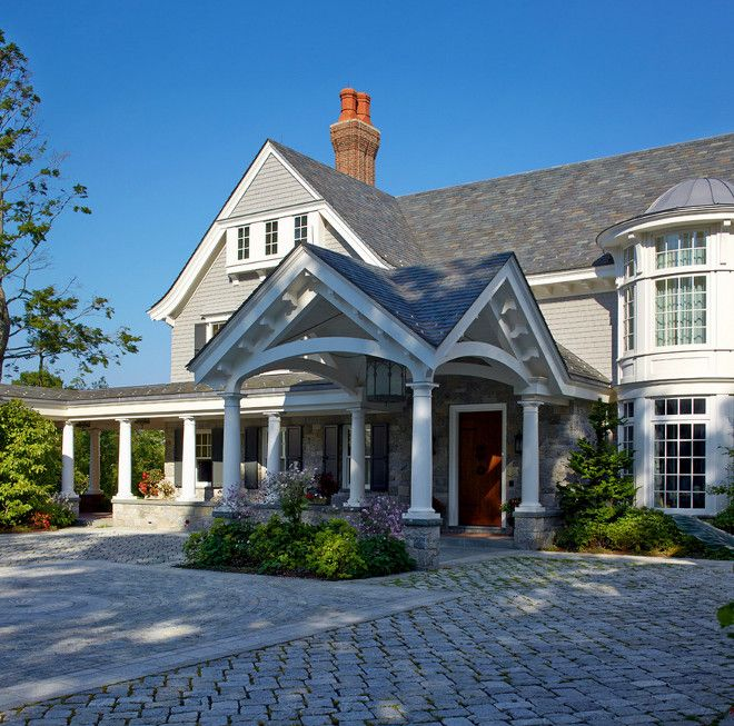 The 25 Best Ideas About Porte Cochere On Pinterest