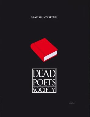 Dead Poets Society (1989) ~ Minimal Movie Poster by Andrea Aldini