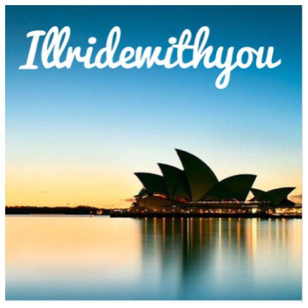 I'll ride with you. Sydney