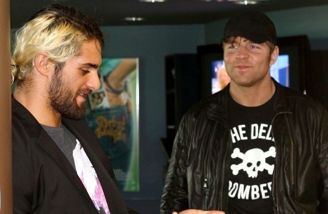 Photo of Seth Rollins & his friend athlete  Dean Ambrose - United States