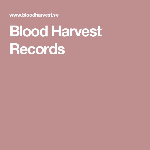 Blood Harvest Records