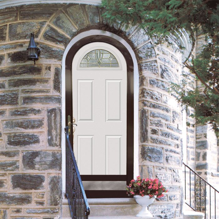 Add beauty to your security storm door with a variety of arch top shapes by HMI Doors. & 11 best HMI Doors images on Pinterest | Photo galleries Entrance ...