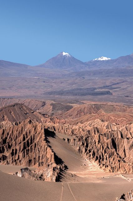 #Atacama #Desert, Chile. http://reversehomesickness.com/south-america/atacama-driest-desert-on-earth/