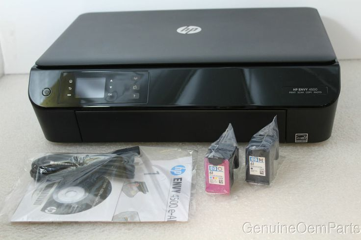 Hp envy 4500 e all in one multifunction printer color ink jet