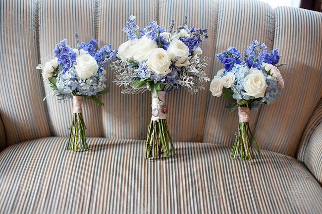 #Slate Blue & Gray Wedding Bouquets... Wedding ideas for brides, grooms, parents & planners ... https://itunes.apple.com/us/app/the-gold-wedding-planner/id498112599?ls=1=8 … plus how to organise an entire wedding, without overspending ♥ The Gold Wedding Planner iPhone App ♥