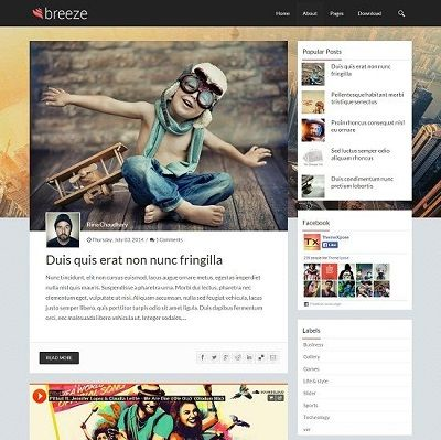 _CTPG_: Template Blogspot - Breeze - Responsive