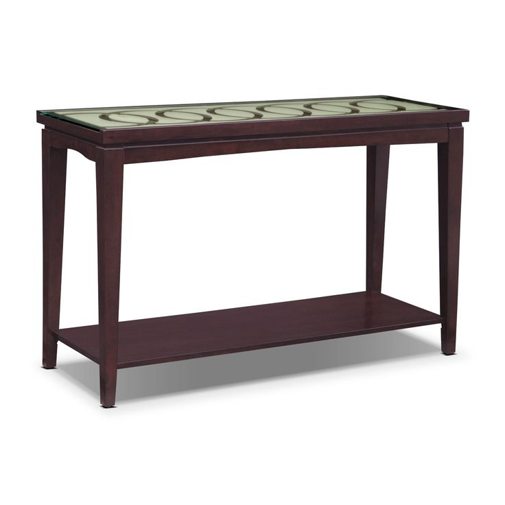 Cosmo Sofa Table Merlot Products Living Room Tables And Tables