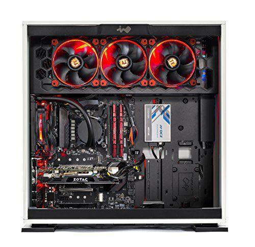 SkyTech Omega Gaming Computer Desktop PC Intel i7-8700K 3 7Ghz