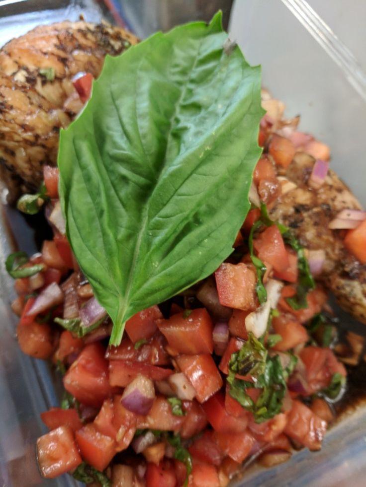 Bruschetta Balsamic Chicken