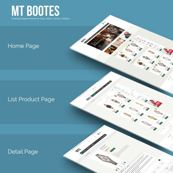 Check out Responsive magento theme MT Bootes by zootemplate on Creative Market