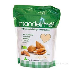 Mandelmel 400 g økologisk