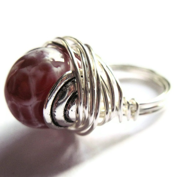 Wire Wrapped Ring Orange Agate Fashion Jewelry by gimmethatthing, £9.85: Agates Fashion, Wraps Jewellery, French Horns, Wire Wrapped Rings, Fashion Jewelry, Handmade Wire, Rings Orange, Orange Agates, Wire Wraps Rings