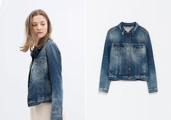 A koptatás még mindig nem ment ki a divatból. Zara, 12 995 forint.