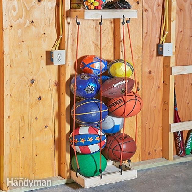 Ball Organizer Garage: 10 Creative Home Hacks That Will Improve Your Life