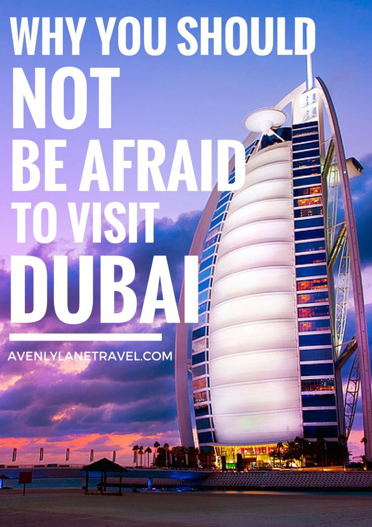 Why You Should NOT Be Afraid To Visit Dubai! If you are thinking of visiting Dubai but feel a little uneasy about traveling to the Middle East, you should read this post. - Avenly Lane Travel